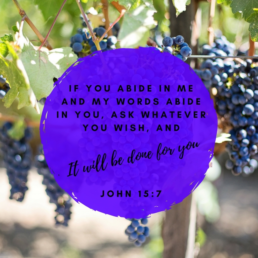 abide in God graphic